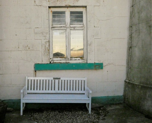 St. Mary's Bench - Offset and Off Kilter