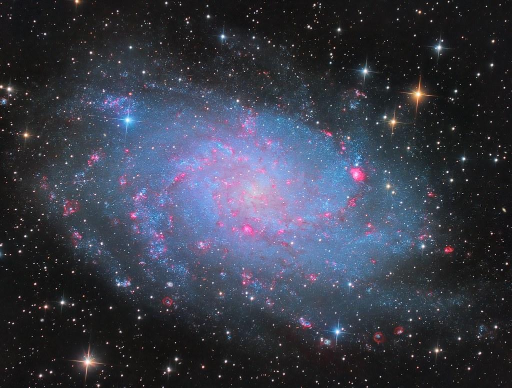 Messier 33 - Triangulum Galaxy LHaRGB