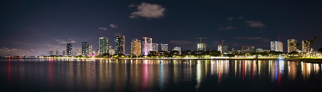 Ala Moana and Honolulu