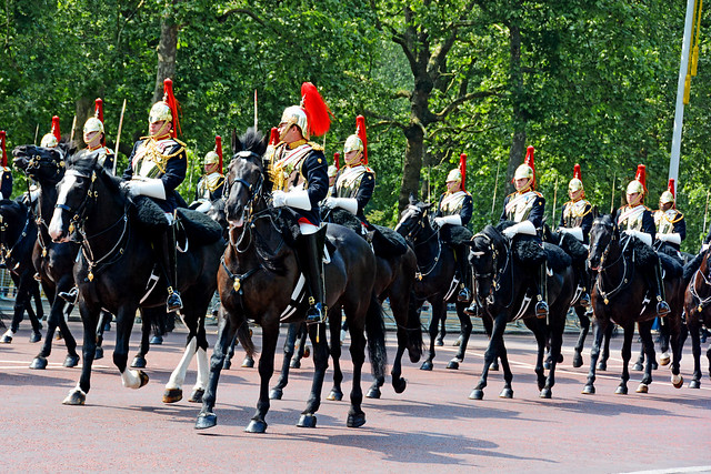 ROYAL GUARDS, LONDON