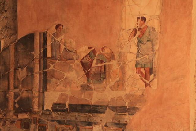 Pompeii - Domus of the Golden Cupids