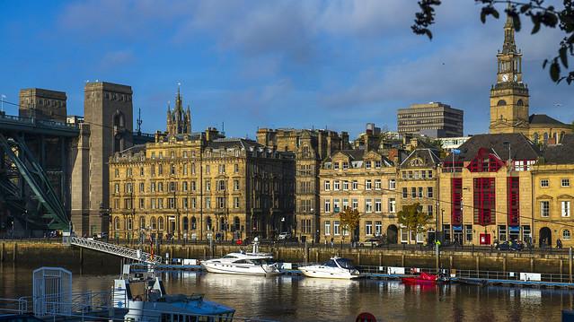 Newcastle upon Tyne, Northumberland, UK, October 2020