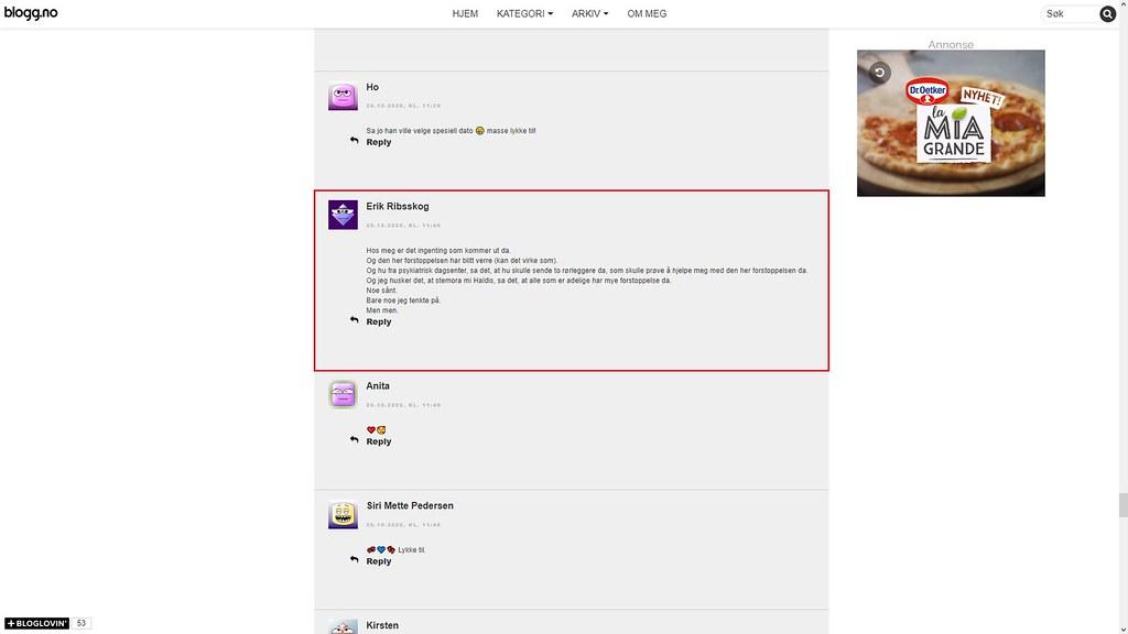 nettmobbing 25. oktober 2