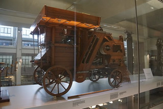 Steam Threshing Machine c. 1860, Science Museum, Exhibition Road, South Kensington, Royal Borough of Kensington and Chelsea, London, SW7 2DD (1)