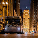 The Batman Filming in Chicago 2020   GTA (Gotham Transit Authority Bus) on LaSalle Street Canyon