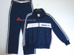 VINTAGE ADIDAS FULL TRACKSUIT (TRACKTOP AND TROUSERS)