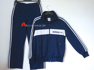VINTAGE ADIDAS FULL TRACKSUIT (TRACKTOP AND TROUSERS) | by aucwd
