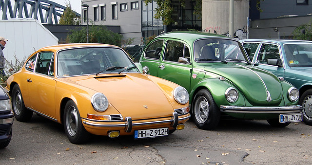 Porsche and Beetle