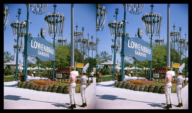 New York World's Fair - Löwenbräu Gardens - 1965