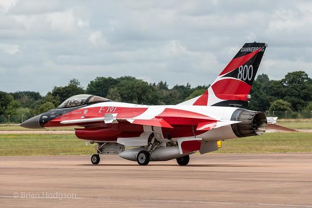 E-191  F-16AM  Royal Danish Air Force  Esk 727