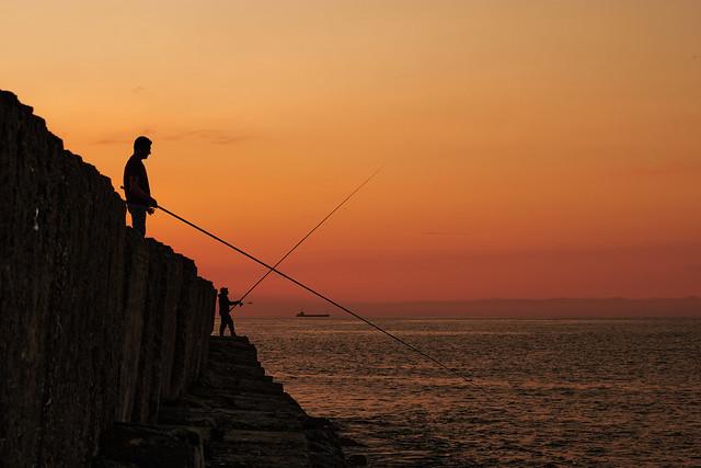 Tarde de pesca...