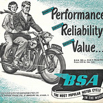 Sun, 2020-10-25 11:16 - Greater performance, greater reliability, greater value, the 1954 BSA range. How could it all go wrong? The BSA 350cc OHV, £157.4s on the road.