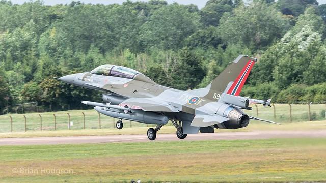691  'FN-K'   F-16AM  Royal Norwegian Air Force  331 Skv