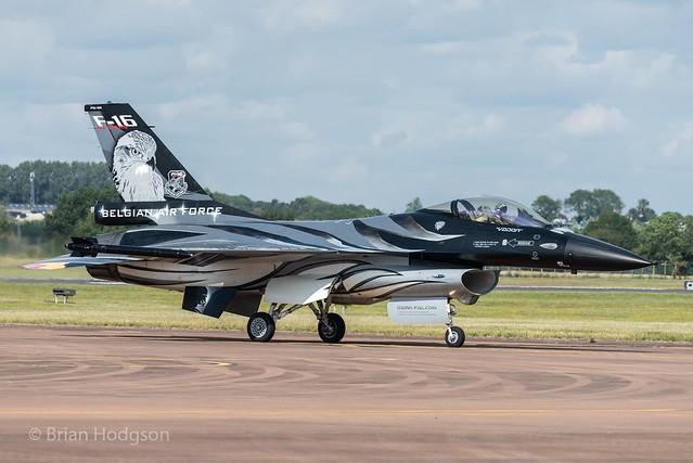FA-101  F-16AM  Belgian Air Force  'Dark Falcon'