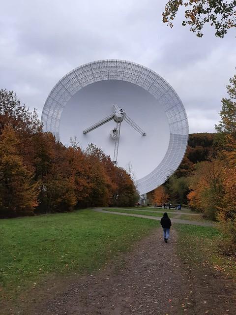 VCSE - Az Effelsbergi nagy rádiótávcső - Kép: Nagy Anna
