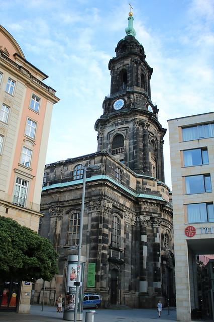 Dresden: Evangelische Kreuzkirche