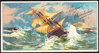 German Tradecard - The Wreck
