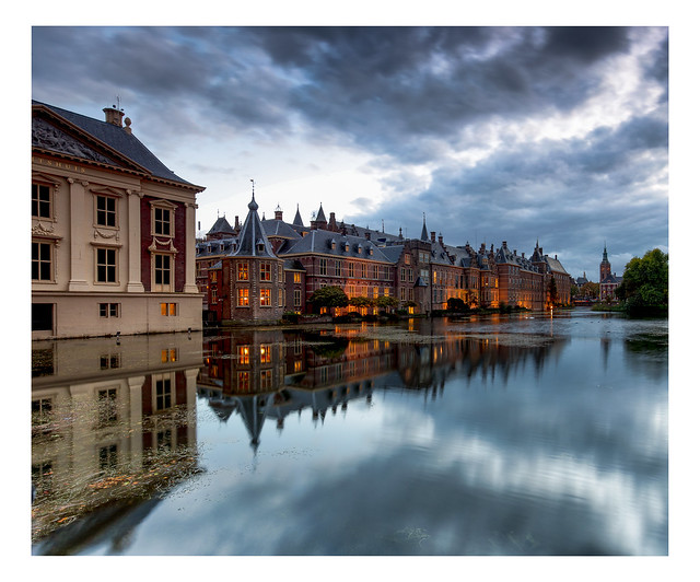 The historic centre of The Hague