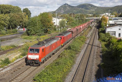 189 075+189 042 . DB Cargo . 48713 . Bad Honnef . 10.10.20.