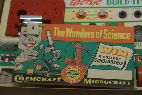 Wonders of Sciene (Electric Set) 1956-1966, Science Museum, Exhibition Road, South Kensington, Royal Borough of Kensington and Chelsea, London, SW7 2DD