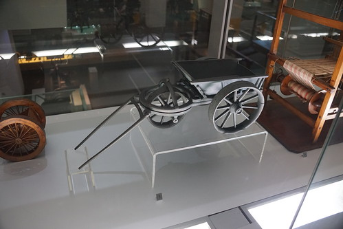 Three-Wheel Heavy Wagon c. 1750, Stephen Demainbray, Science Museum, Exhibition Road, South Kensington, Royal Borough of Kensington and Chelsea, London, SW7 2DD (1)