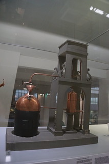 Thomas Savery's Steam Engine c. 1740, Science Museum, Exhibition Road, South Kensington, Royal Borough of Kensington and Chelsea, London, SW7 2DD (1)