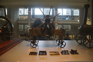 Steam Ploughing Machine c. 1860, Science Museum, Exhibition Road, South Kensington, Royal Borough of Kensington and Chelsea, London, SW7 2DD (1)
