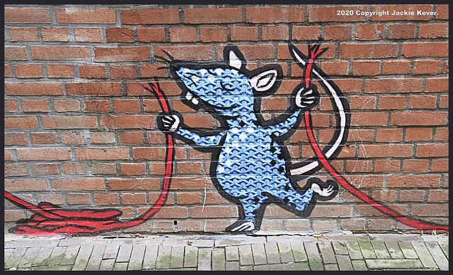 The Hague Street Art in Het Achterom.