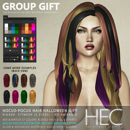 HEC (GROUP GIFT) • 250L Gift-Card + Hocus Pocus Halloween Hair