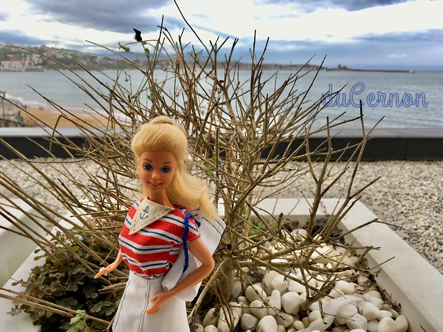 Barbie en vacances a Saint Jean de Luz