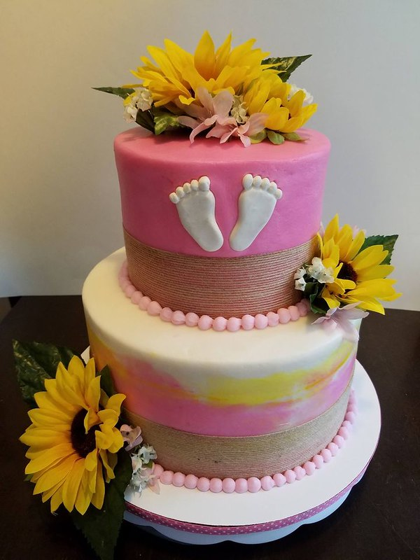 Baby Shower Cake by Tammy Lindsey Cakes