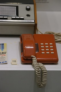 Telephone Handset 1982, Science Museum, Exhibition Road, South Kensington, Royal Borough of Kensington and Chelsea, London, SW7 2DD