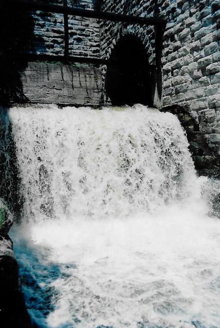 Dundas Falls in Dundas section of Hamilton