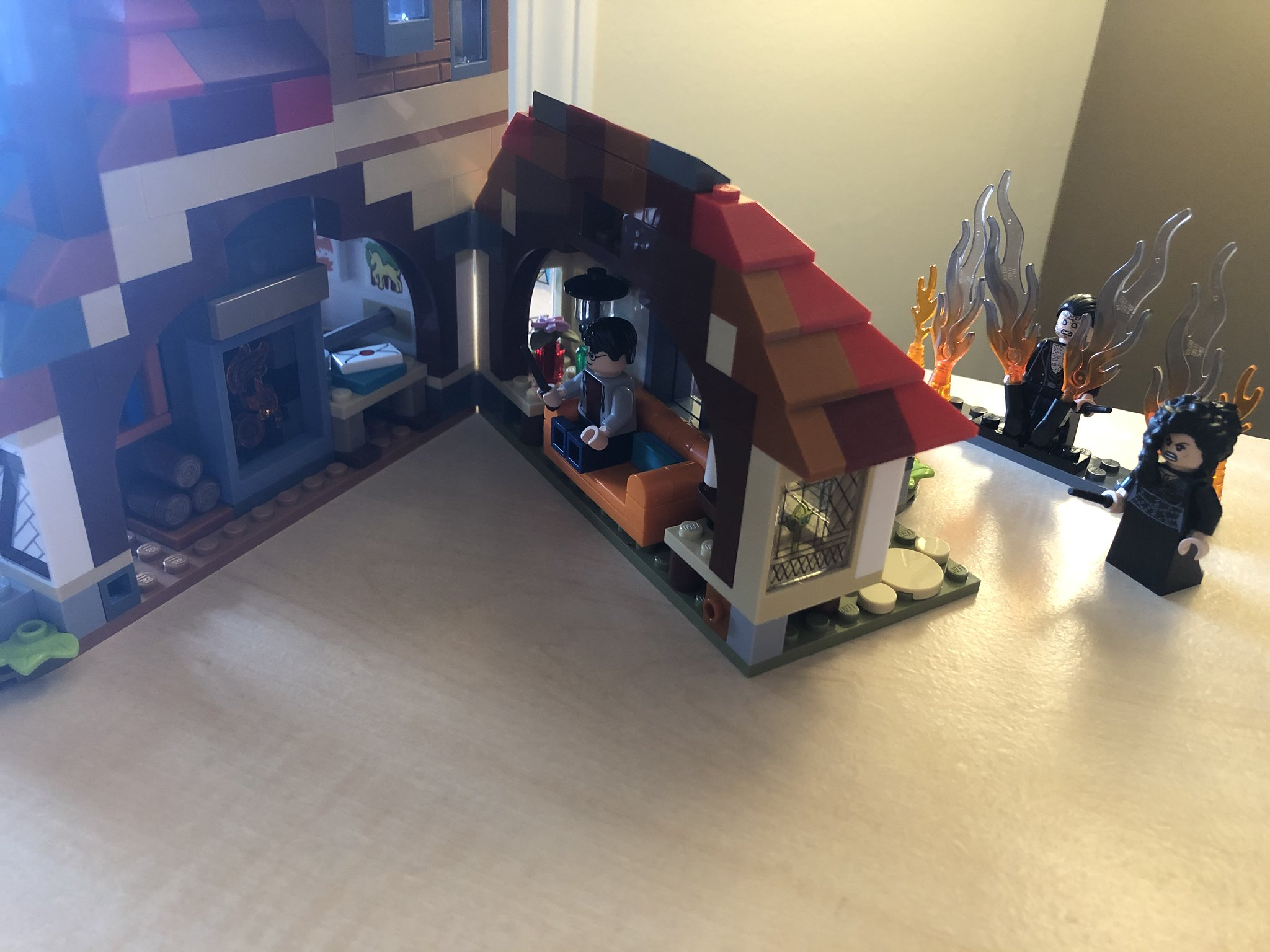 The Burrow's living room