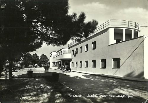 Tirrenia, stabilimenti cinematografici