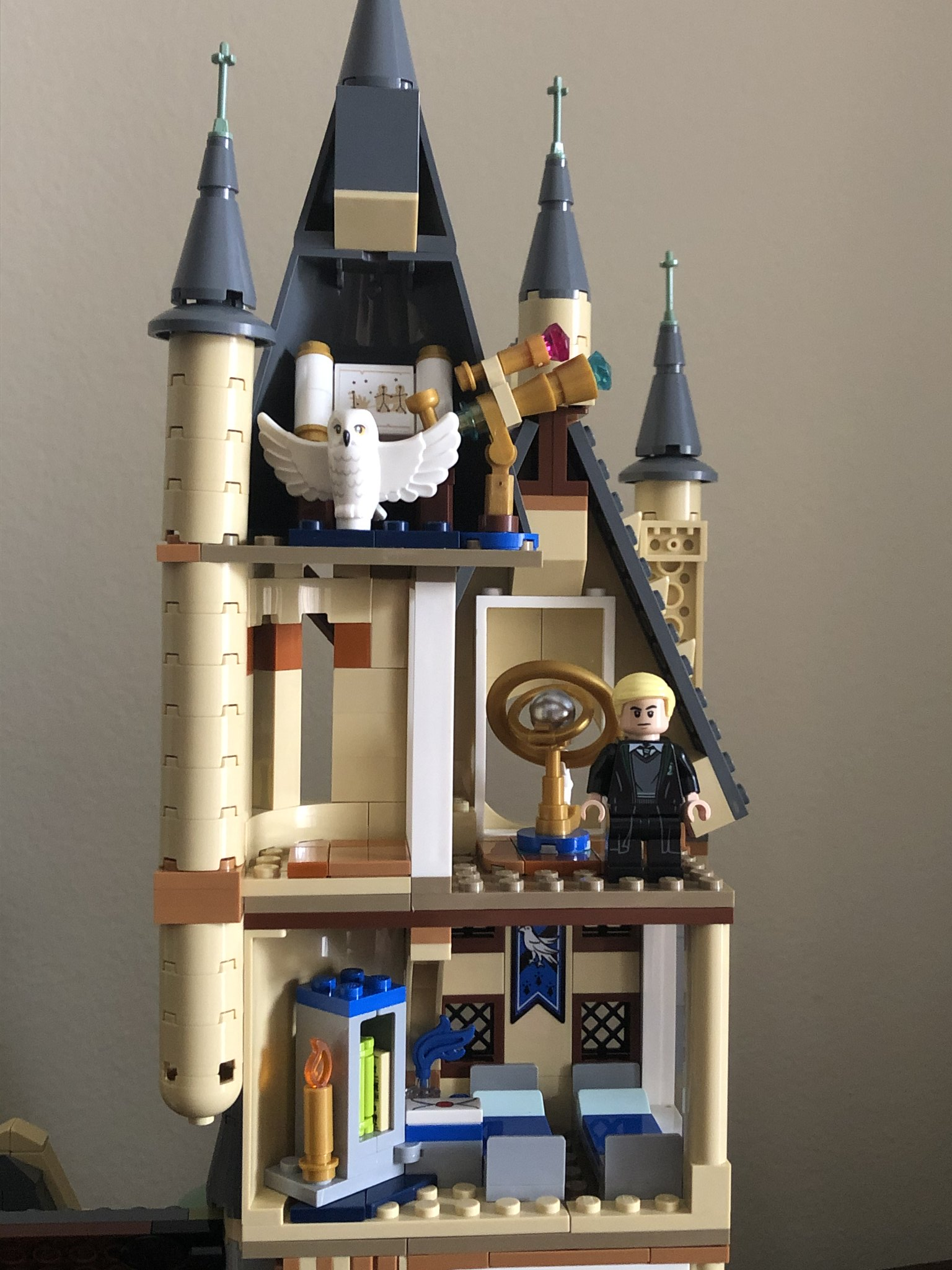 The Astronomy Tower and Ravenclaw common room