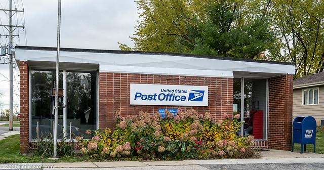 US Post Office - Union, Illinois