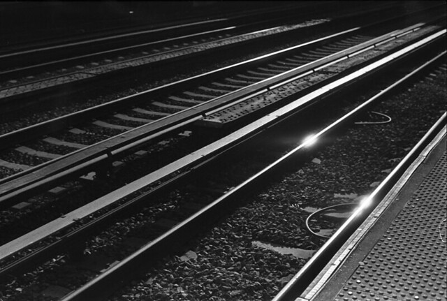 glistening tracks...