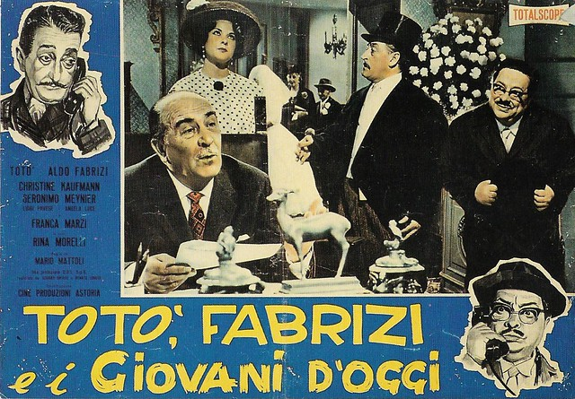 Aldo Fabrizi in Totò, Fabrizi e i giovani d'oggi