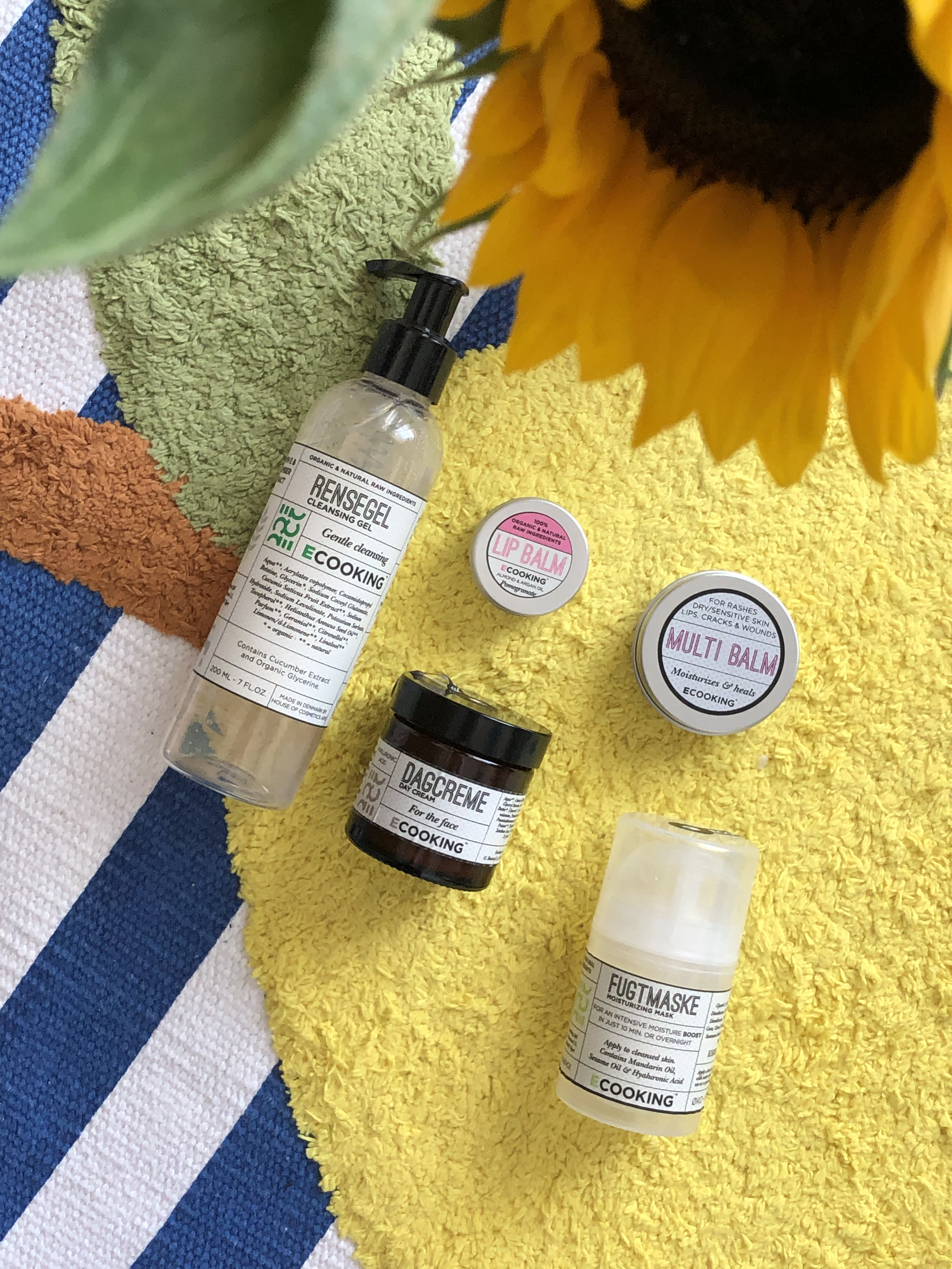 Ecooking Skincare products