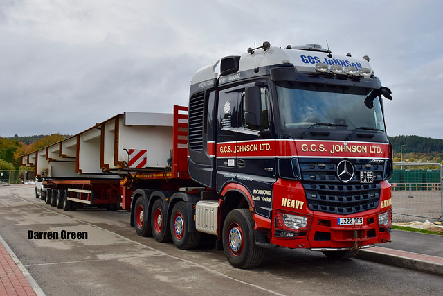 G.C.S. JOHNSON LTD MERCEDES AROCS 8x4 630 TITAN J222 GCS