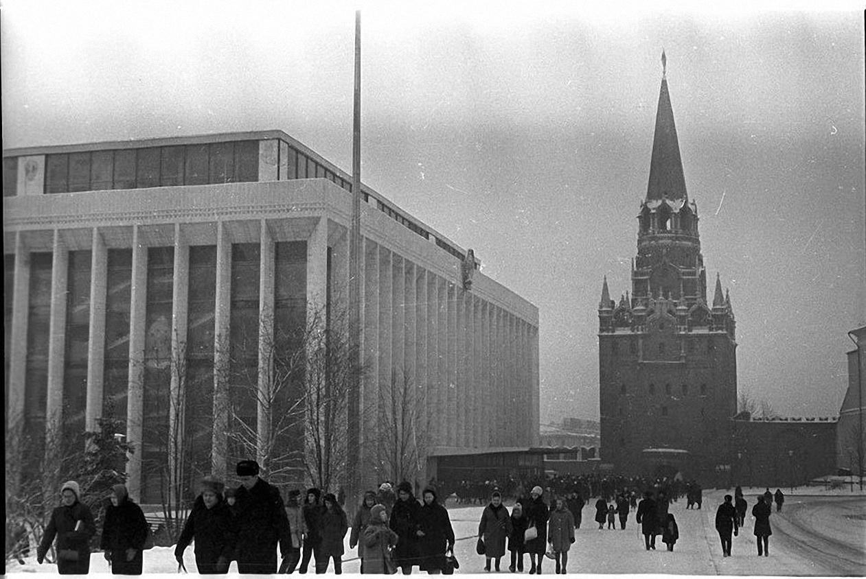 1965. Дворец съездов. Кремль