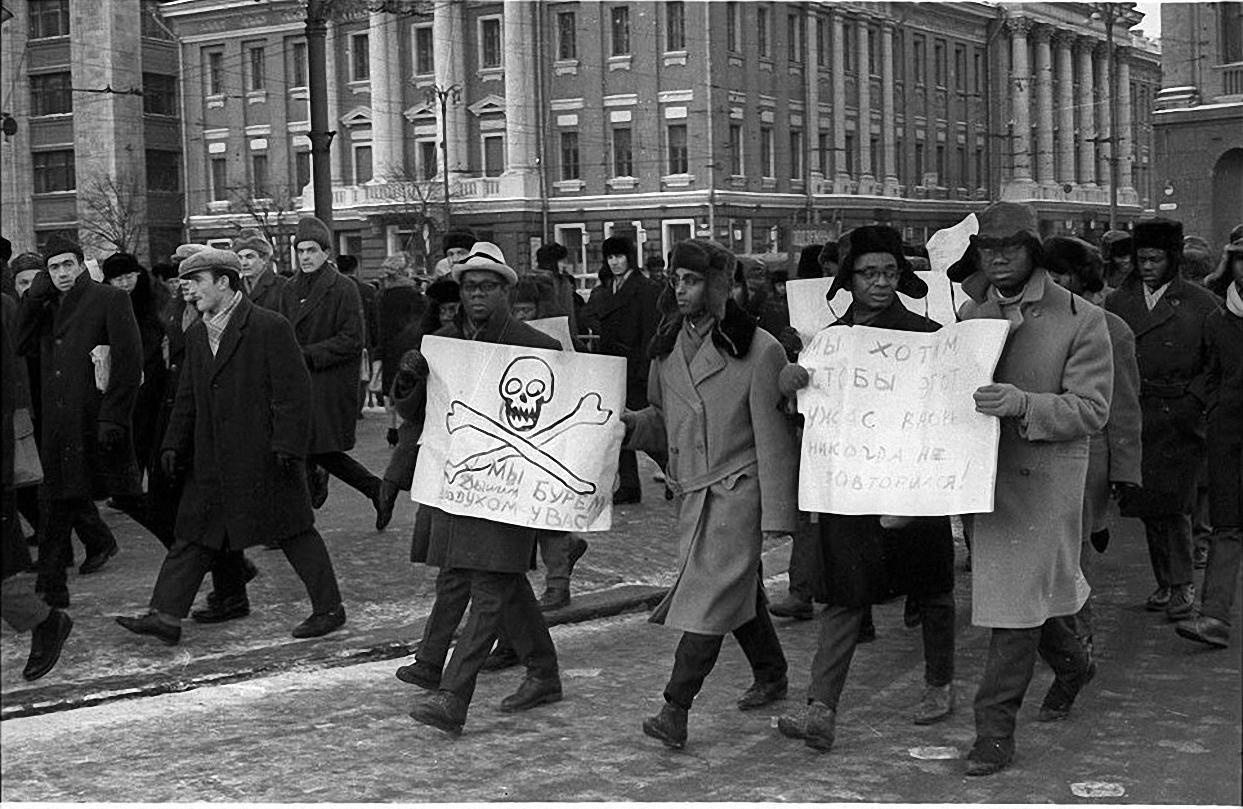 1963. Протест на Красной площади. декабрь (4)