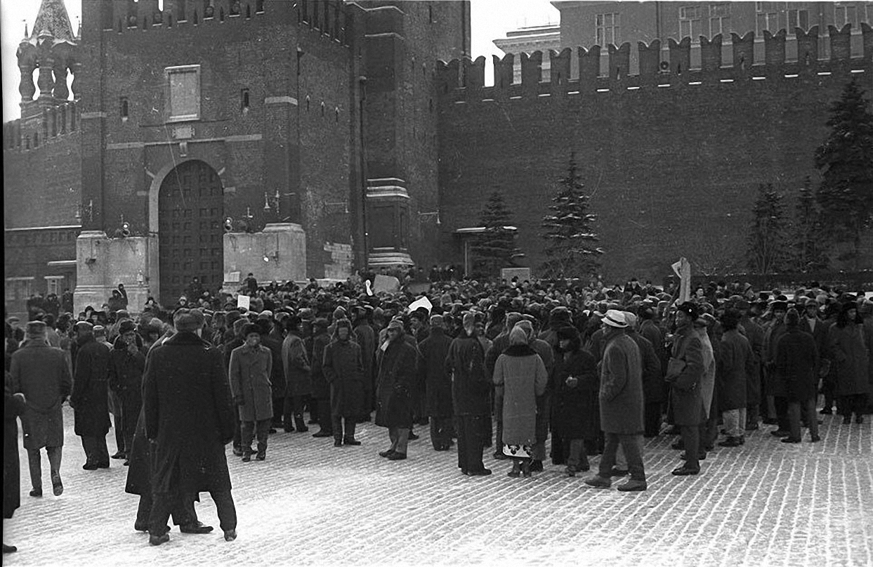 1963. Протест на Красной площади. декабрь (3)
