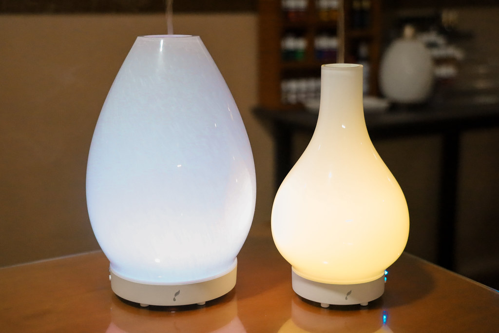 Lustre and Lucia Young Living Artisan Diffusers
