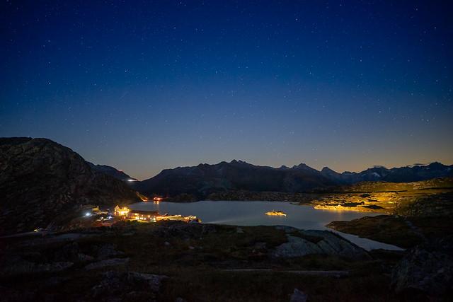 Grimselpass: night in September (1/2)