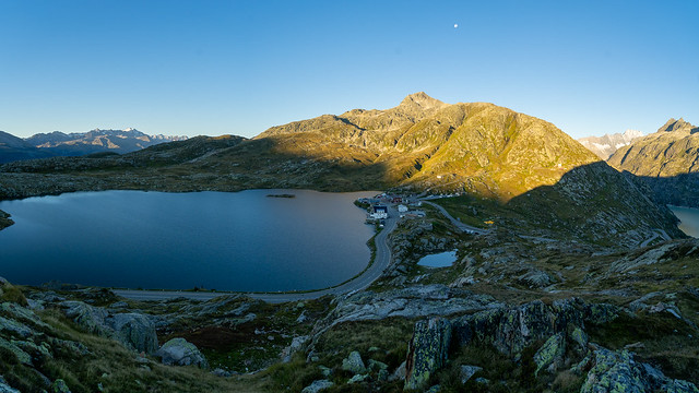 Grimselpass: Morning in September (2/2)