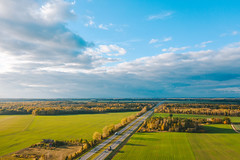 Highway | Lithuania aerial