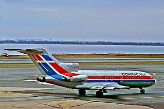 HI-212   Boeing 727-1J1 [20426] (Dominicana) New York-John F Kennedy Int'l 21/09/1979