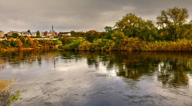 The River Tweed, Coldstream
